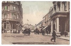 FOLKESTONE Sandgate Road, Old Postcard by Libraire Francaise, Postally Used 1917 | eBay