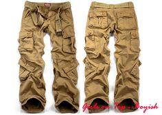 Aliexpress.com: Comprar Para mujer pantalones cargo moda multi bolsillo de algodón ocasional pantalones anchos de la pierna pantalones trajes de carga para mujeres pantalones de hip hop de pantalones gato confiables proveedores de angel's wholesell store.
