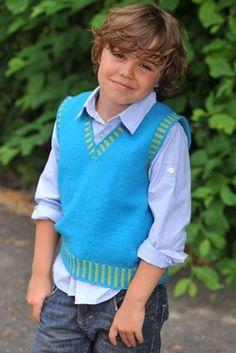 Introducing this cute crochet vest that comes in 5 sizes starting en rigtig herrevest til drenge familie journal fandeluxe Gallery