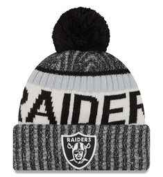 New Era Sport Knit Beanie - Oakland Raiders 4e8a86f01