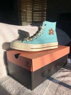 Converse Golf Le Fleur Hi-tops Best Sneakers, Sneakers Fashion, Shoes Sneakers, Dream Shoes, New Shoes, Golf Shoes, Sports Shoes, Golf Le Fleur Shoes, Aesthetic Shoes