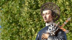 Saint Gerardo Maiella, Redemptorist is invoked all over the world as the Patron Saint of Expectant Mothers and Children. St Gerard Majella shrine in Matredomini, Italy - Patron Saint of Fertility.