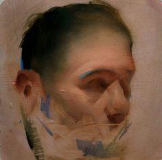 Oil sketch by Benjamin Björklund. Abstract Portrait, Portrait Art, Portraits, Traditional Paintings, Contemporary Paintings, Figure Painting, Painting & Drawing, Painting Frames, Portrait Sketches