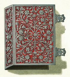 Book of hours of Anna Jagiellon with filigree cover by Anonymous from Kraków, second half of the 16th century, Muzeum Czartoryskich, lost during World War II