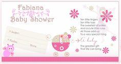 Tarjetas De Baby Shower  5 HD Wallpapers