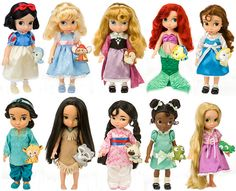Disney Princess Glamorous Fashion - Belle | Disney Animators Collection: Disney Princess Toddler Dolls