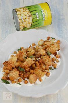 Salata calda cu conopida si naut - CAIETUL CU RETETE Cauliflower Recipes, Vegan, Ethnic Recipes, Kitchen, Food, Salads, Cooking, Califlower Recipes, Kitchens