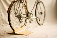 Support à vélo en bois