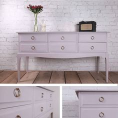 Dresser in autentico violet grey...beautiful.