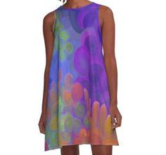 "A-Line Dress, ""Anticipation"" by Betty Mackey"