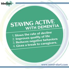 Activity is a form of therapy for people with Alzheimer or other dementia. 4 reasons engagement is so important for people with dementia.