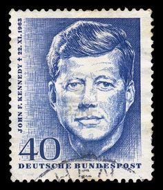 Vintage Postage Stamp Memorializes John