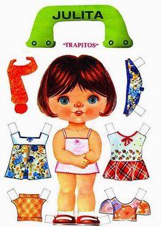 Bonecas de Papel: Bonecas de Papel Cabeçudas