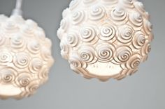 3D printed lamps by Exnovo