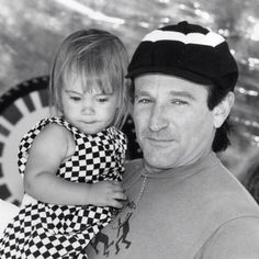 The last message Williams posted online was a picture of himself with his 25 year-old daughter, Zelda Rae Williams. He uploaded the picture on July 31 — his daughter's birthday. | Robin Williams Is Dead At 63