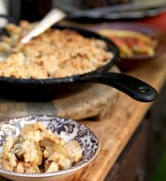 Skillet Apple Crisp from The Blackberry Farm Cookbook | Garden and Gun