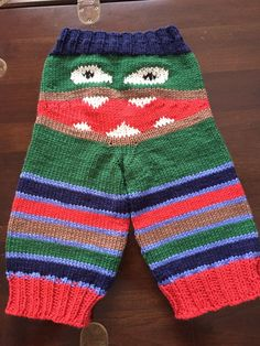 1000+ images about Knitting - Monster Pants on Pinterest Monsters, Crochet ...