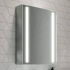 500mmx650mm Dawn Illuminated LED Mirror Cabinet - soak.com