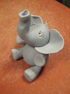 My first gumpaste figure! by Jen and Willie, via Flickr