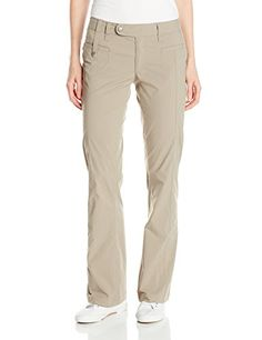 Royal Robbins Womens Discovery Pant Light Taupe 6Short ** More info could be found at the image url.