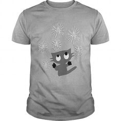 cute kitty cat animation vector art Women's Long Sleeve Jersey T-Shirt