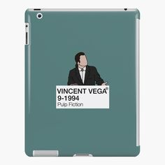 'Vincent Vega - Pulp Fiction' iPad Case/Skin by fictiophilia Mia Wallace, Fandom Outfits, Lip Designs, Style Snaps, Pulp Fiction, Sell Your Art, Ipad Case, Card Making