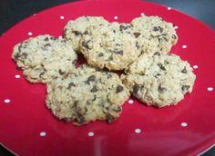 Oatmeal chocolate chop cookies (gluten free)