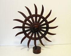 Vintage Industrial Rotary Hoe  Industrial Decor by RusticAttic, $55.00