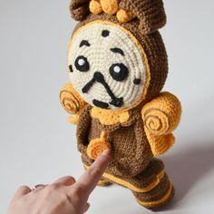 Crochet PATTERN  modello di orologio incantato di Krawka di Krawka