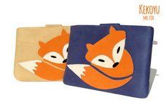 8efa9d8a96c kobo Sleeve Mr.Fox Unique   Sleeve for kobo touch kobo by KEKOYU