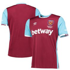 West Ham United Umbro 2016/17 Home Jersey - Maroon - Fanatics.com