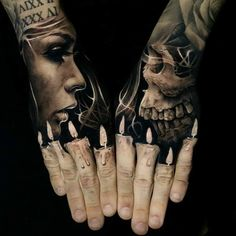 52 Best Tattoos Inspired by Classical Art and More for Handsome Mens tattoos inspired by art; tattoos inspired by books; tattoos inspired by movies; tattoos inspired by depression; tattoos inspired by history; tattoos inspired by nature Hand Tattoos For Guys, Hand Tats, Tattoos For Women, Pretty Hand Tattoos, Amazing 3d Tattoos, Badass Tattoos, Beautiful Tattoos, Warrior Tattoos, Awesome Tattoos For Guys