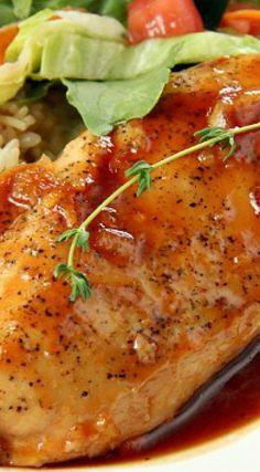 Applesauce BBQ Chicken