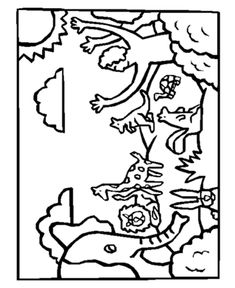 coloring pages god has the whole world in his hands