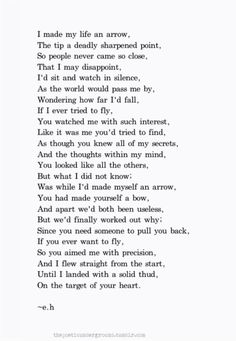 I am in love with this poem.. And how true it is..