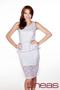 Conjunto, Modelo 19120. Precio $290 MXN #Lineas #outfit #moda #tendencias #2014 #ropa #prendas #estilo #primavera #outfit