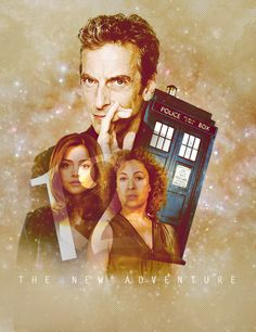 """The New Adventure by mavroaima ~~ """"This is why I do need to come back because I need to put Peter Capaldi's character in his place."""" — Alex Kingston (via multifandomfuckfest) ♥♥"""