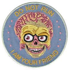 Image of Mars Attacks! patch