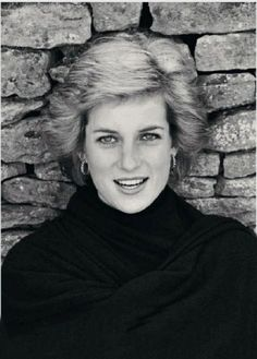 The Princess of Wales - how sad Diana can't be here to see her first grandchild.