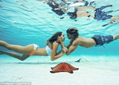 Couple Jay Alvarrez and Alexis Ren document their stunning travel images to their combined...