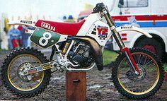 Michele Fanton Yamaha  YZ250 factory 1987