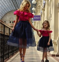 Mother daughter fashion
