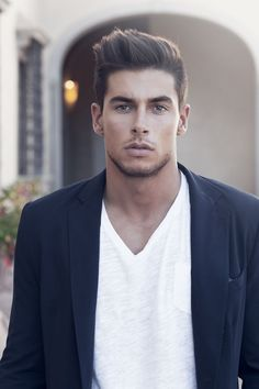 Casual men's style and stunning looks...his name is Andrea Denver…