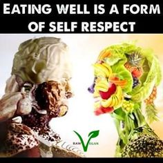 Eating well is a form of self-respect so show thyself some respect. Thanks for the reminder Health Diet, Health And Wellness, Health Fitness, Fitness Workouts, Nutribullet, Attitude Positive, Daily Health Tips, Mental Health Issues, Health Quotes