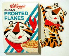 Tony the Tiger Frosted Flakes sign  c. 1962