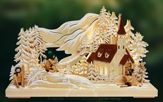 Puzzles For Toddlers, Laser Cut Wood, Scroll Saw, Gingerbread, 3d, Fantasy, Models, Xmas, Sled