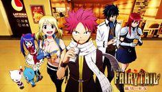 Grabbing Something to eat ~Fairy Tail ~ XD