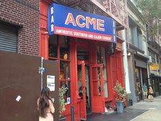 An Insider's Guide to New York City: Acme Downstairs Bar - UNDER ACME - saw some great bands here