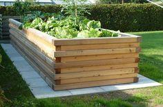 Hochbeet selber bauen . umfangreiche Anleitung . Foto Ortner Holz