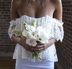 Separate From The Rest! The Two Piece Wedding Gown…